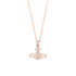 Vivienne Westwood Jewellery Women's Mayfair Bas Relief Pendant - Crystal: Image 1