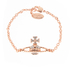 Vivienne Westwood Jewellery Women's Mayfair Bas Relief Bracelet - Crystal: Image 1