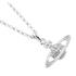 Vivienne Westwood Jewellery Women's Mini Bas Relief Pendant - Silver: Image 3