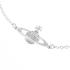 Vivienne Westwood Jewellery Women's Mini Bas Relief Bracelet - Silver: Image 2