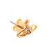 Vivienne Westwood Jewellery Women's Nano Solitaire Earrings - Light Topaz: Image 2