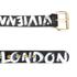 Vivienne Westwood Jewellery Camden Belt - Black/Gold: Image 2