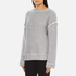 Helmut Lang Women's Heavy Loop Back Terry Jumper - Dark Heather: Image 2