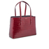 Aspinal of London Women's Regent Croc Tote Bag - Bordeaux: Image 4