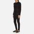 PS by Paul Smith Women's Fine Stripe Jumper - Black: Image 4