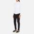 PS by Paul Smith Women's White Classic Shirt With Spot Cuff - White: Image 4