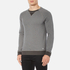 BOSS Orange Men's Warys Crew Neck Sweatshirt - Grey: Image 2