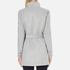 Vero Moda Women's Call Rich 3/4 Wool Jacket - Light Grey Melange: Image 3