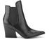 Kendall + Kylie Women's Finley Leather Heeled Chelsea Boots - Black: Image 1