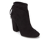Kendall + Kylie Women's Zola Suede Heeled Ankle Boots - Black: Image 2