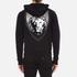 Versus Versace Men's Large Reverse Logo Hoody - Black: Image 3