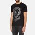 Versus Versace Men's Large Lion Logo T-Shirt - Black Stampa: Image 2