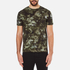 Versus Versace Men's Camo Print Crew Neck T-Shirt - Stampa: Image 1