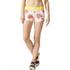 adidas Women's Stellasport Printed Gym Shorts - White/Pink: Image 1