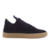 Filling Pieces Men's Native Suede Low Top Trainers - Black: Image 1