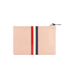 Clare V. Women's Margot Flat Clutch Bag - Blush Navy Cream/Red Stripes: Image 6