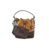 SALAR Women's Tala Small Edges Bucket Bag - Tan/Multi: Image 7