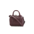 Alexander Wang Women's Mini Rockie Bowler Bag with Silver Hardware - Beet: Image 1