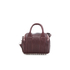 Alexander Wang Women's Mini Rockie Bowler Bag with Silver Hardware - Beet: Image 6