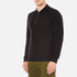 GANT Rugger Men's Zipped Pique Polo Shirt - Black: Image 2