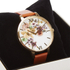 Olivia Burton Women's Flower Show Watercolour Watch - Tan Gold: Image 3