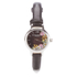 Olivia Burton Women's Flower Show Mini Dial Watch - Black Silver: Image 1