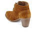 Clarks Women's Carleta Lyon Suede Heeled Ankle Boots - Tan: Image 4