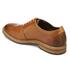 Clarks Men's Pitney Walk Leather Derby Shoes - Cognac: Image 4