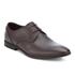 Clarks Men's Bampton Lace Leather Derby Shoes - Walnut: Image 2