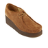 Clarks Originals Women's Peggy Bee Platform Shoes - Cola Suede: Image 2