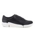 Clarks Women's Tri Abby Leather Flex 3 Trainers - Black: Image 1