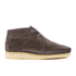 Clarks Originals Men's Weaver Boots - Charcoal Suede: Image 1