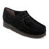 Clarks Originals Women's Wallabee Shoes - Black Suede: Image 2