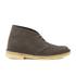 Clarks Originals Women's Desert Boots - Dark Taupe Suede: Image 1