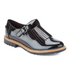 Clarks Women's Griffin Mia Patent Frill T Bar Shoes - Black: Image 2
