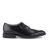 Clarks Men's Swinley Cap Leather Toe Cap Shoes - Black: Image 1