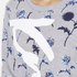 KENZO Women's Dandelion Print and Logo Sweatshirt - Pale Grey: Image 5