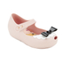 Mini Melissa Toddlers' Mini Alice Ultragirl Flats - Nude Bow: Image 2