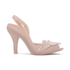 Vivienne Westwood for Melissa Women's Lady Dragon 16 Peep Toe Heeled Sandals - Nude Cherub: Image 1