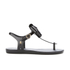Melissa Women's Solar Bow Sandals - Black: Image 3