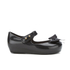 Mini Melissa Toddlers' Ultragirl Silk Bow Ballet Flats - Black: Image 1