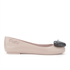 Jeremy Scott for Melissa Women's Space Love Ballet Flats - Nude Contrast Heart: Image 1