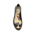 Vivienne Westwood for Melissa Women's Space Love 16 Ballet Flats - Black Orb: Image 3