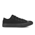 Converse Kids Chuck Taylor All Star II Tencel Canvas Ox Trainers - Black Monochrome: Image 1