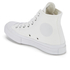 Converse Chuck Taylor All Star '70 Vintage Canvas Hi-Top Trainers - White Monochrome: Image 4