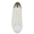 Converse Women's Chuck Taylor All Star Sting Ray Leather Ox Trainers - White/Black/White: Image 3