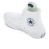 Converse Chuck Taylor All Star II Hi-Top Trainers - White/White/Navy: Image 4