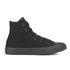 Converse Kids Chuck Taylor All Star II Tencel Canvas Hi-Top Trainers - Black Monochrome: Image 1
