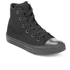 Converse Kids Chuck Taylor All Star II Tencel Canvas Hi-Top Trainers - Black Monochrome: Image 2