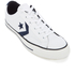 Converse CONS Men's Star Player Canvas Ox Trainers - White/Obsidian/Black: Image 2